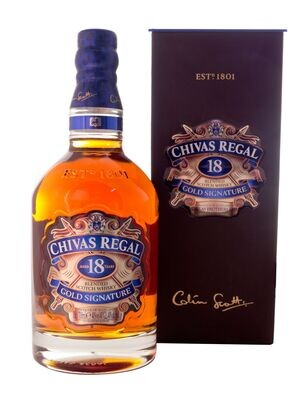 Chivas Regal 18-Year-Old Blended Scotch Whisky 40% 700ml