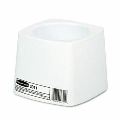 Rubbermaid WHITE TOILET BOWL BRUSH HOLDER - Brush holder only - NO BRUSH