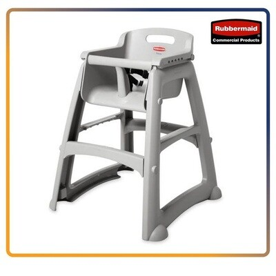 Rubbermaid Sturdy High Chair Without Wheels - Feeding High Chair For Baby - NO TRAY