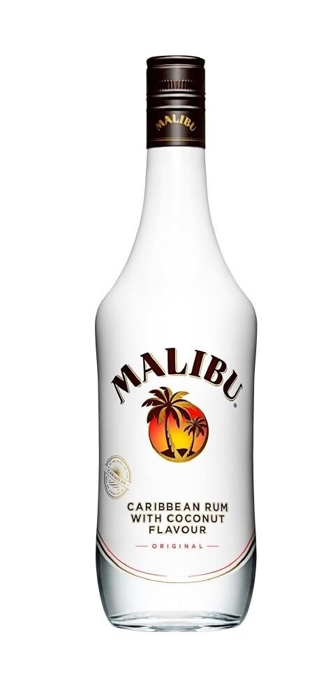 MALIBU COCONUT RUM 700 ML - Caribbean Liqueur