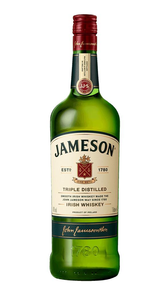 JAMESON IRISH WHISKEY 1 Liter - Triple Distilled