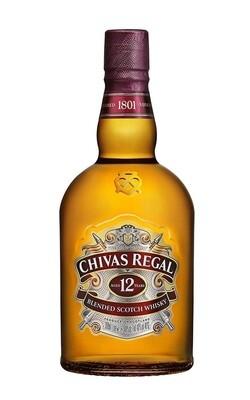 Chivas Regal 12-Year-Old Blended Scotch Whisky 40% 1 Liter