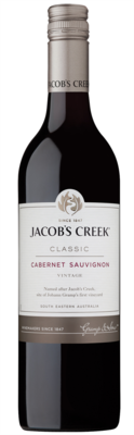 JACOB'S CREEK CABERNET SAUVIGNON 750 ml