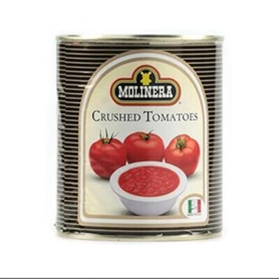 Molinera CRUSHED Canned Tomatoes 2,500g