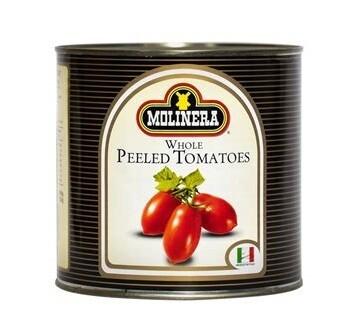 Molinera Whole Peeled Canned Tomatoes 2,550g