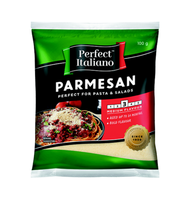 Perfect Italiano Grated Parmesan 100g