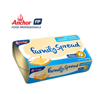 Anchor Family Spread 200g (8% Butter Fat)