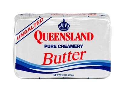 Queensland Pure Creamery UNSALTED BUTTER 225g