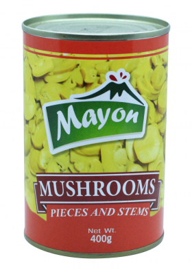 Mayon MUSHROOMS PIECES & STEMS 400g