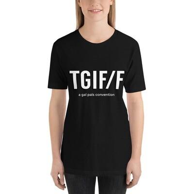 TGIF/F logo with tagline - Premium T-Shirt