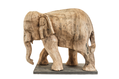 Elephant Wood Brown