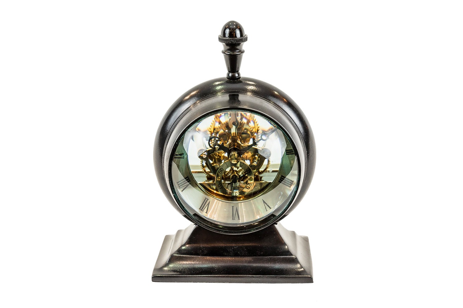 Clock With See Through Mechanism