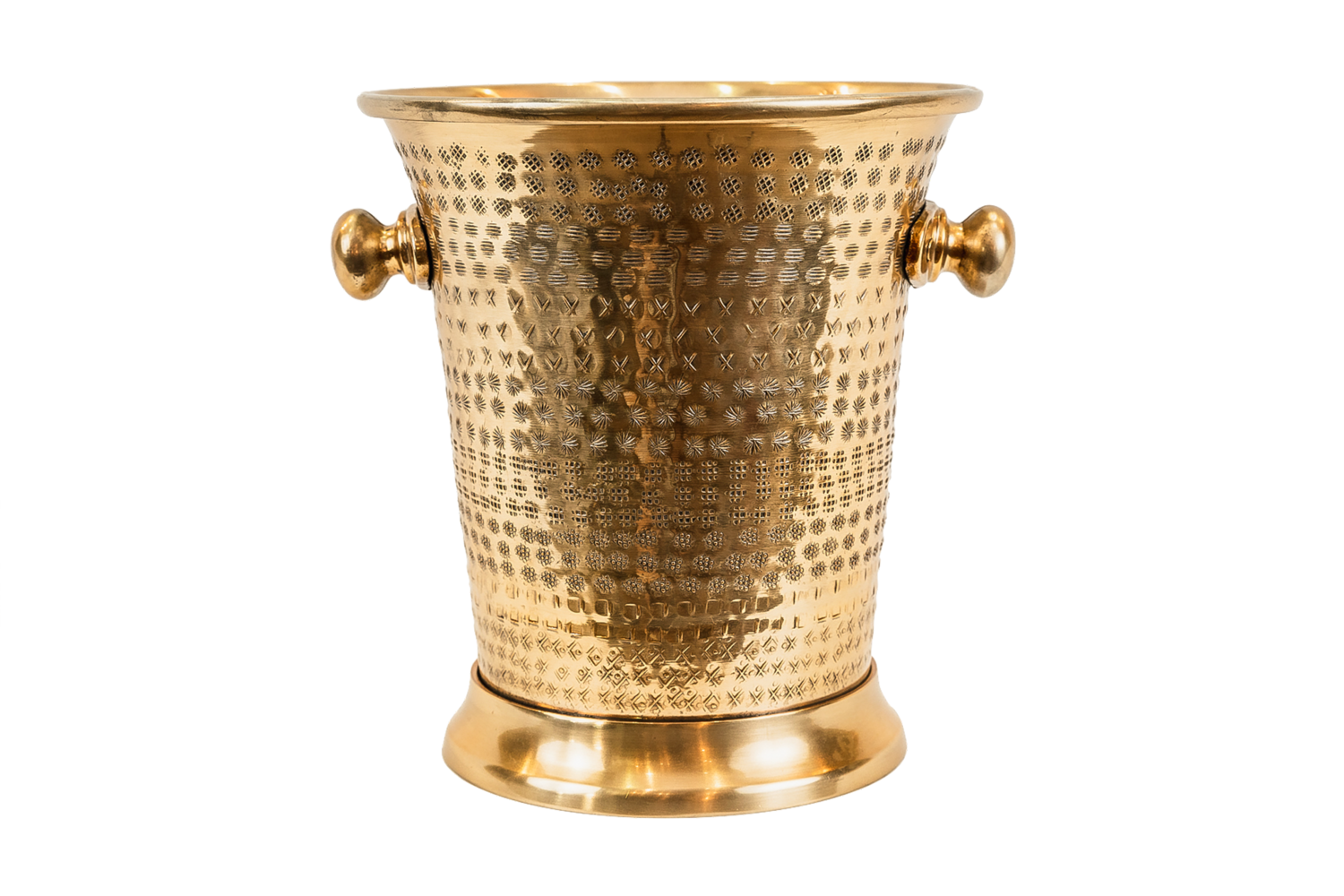 Champagne Wine Cooler - Brass Finish