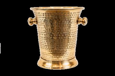 Champagne Wine Cooler - Brass Finish