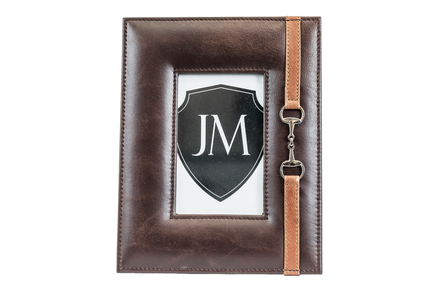 Leather Frame - Dark Brown