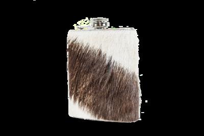 Zebra Hip Flask