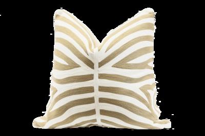 Natural Zebra Cushion