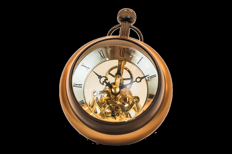Aluminium Paper Weight Clock