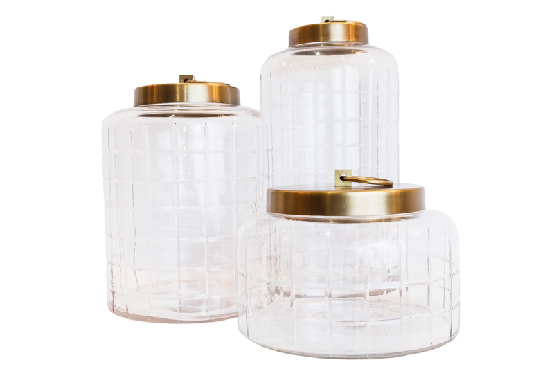 Glass Jars - Various Sizes
