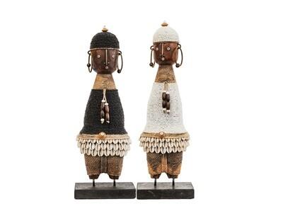 Ndamji Doll - Approx 35cm - Woven Necklace