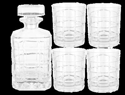 Glasgow Whiskey Set Decanter