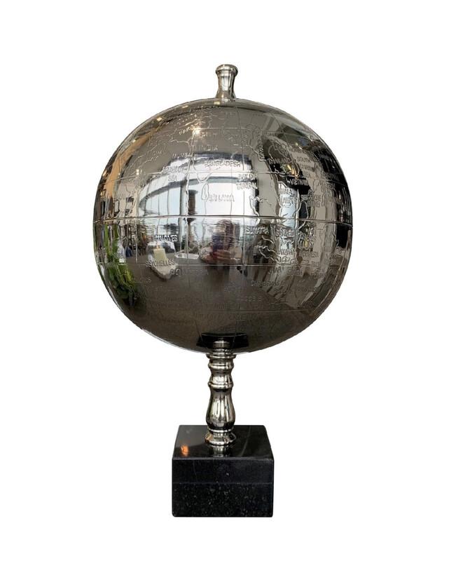 Globe on Granite Base