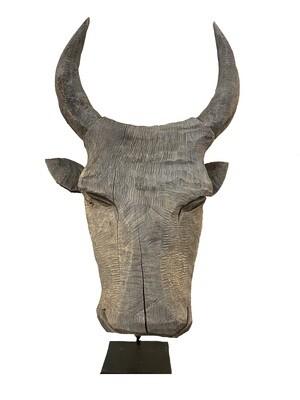 Carved Bull Head