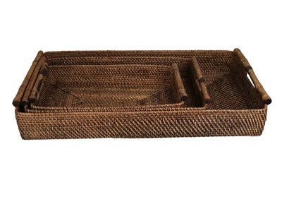 Brown Trays
