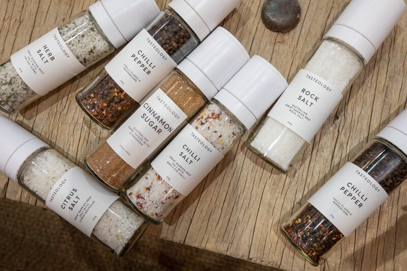 Tasteology Gourmet Salt and Pepper