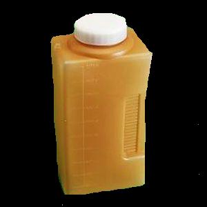 Pot urines 24h 3 litres
