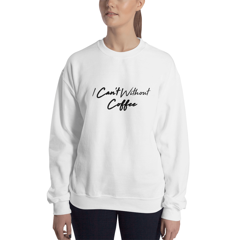 I CAN'T Without COFFEE-High Tide Unisex Sweatshirt