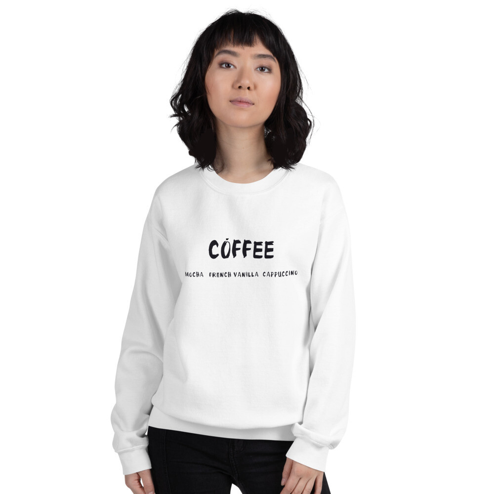 I CAN'T Without COFFEE-COFFEE Palette 2 Unisex Sweatshirt