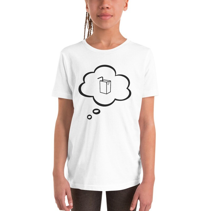 I CAN'T Without COFFEE- I DREAM OF JUICE Youth Short Sleeve T-Shirt