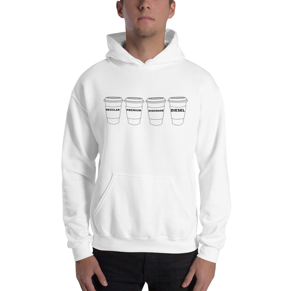 I CAN'T Without COFFEE GASOLINA - H Unisex Hoodie