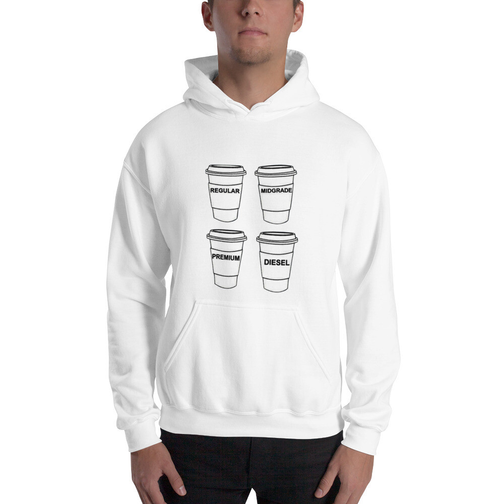 I CAN'T Without COFFEE - GASOLINA-V Unisex Hoodie