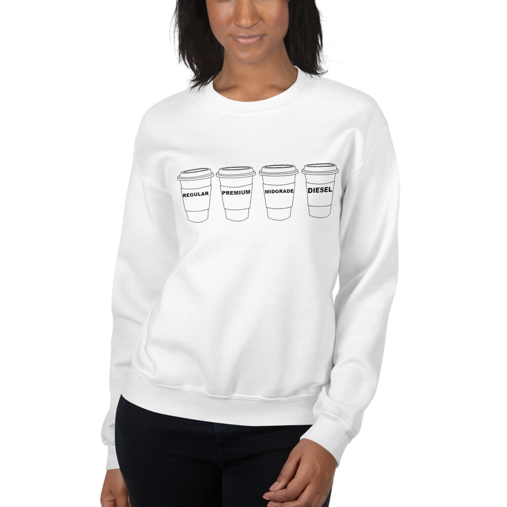 I CAN'T Without COFFEE- GASOLINA H Women's Sweatshirt
