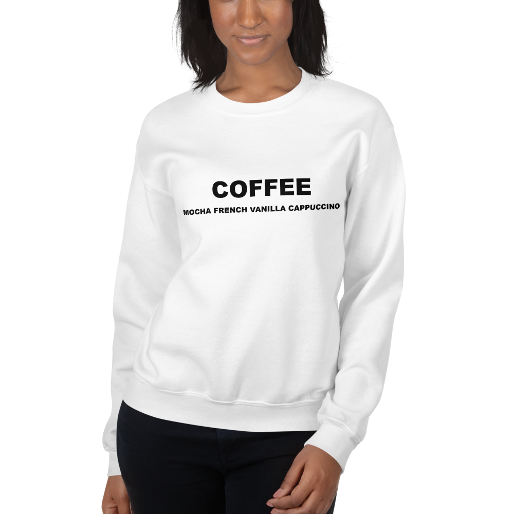 I CAN'T Without COFFEE-Coffee Palette Unisex Sweatshirt