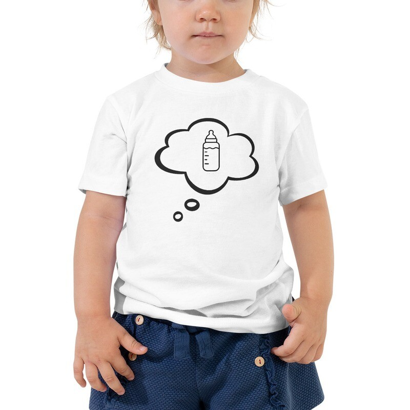 I CAN'T Without COFFEE- I Dream of Baba 2 Toddler Short Sleeve Tee