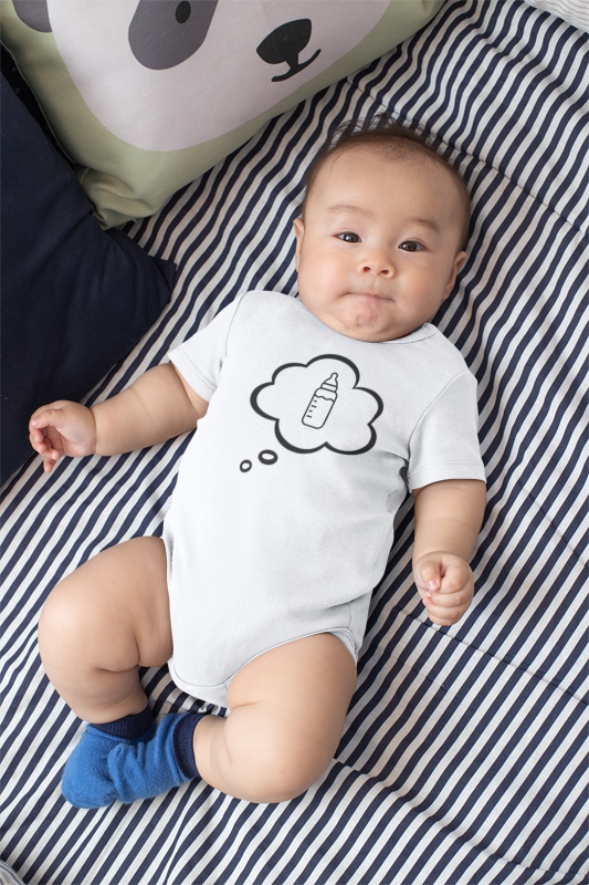 I CAN'T Without COFFEE- I Dream of Baba 2 Short Sleeve Baby One Piece