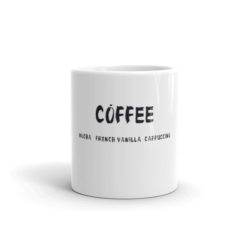 I CAN'T Without COFFEE®️-COFFEE PALETTE 2 Mug