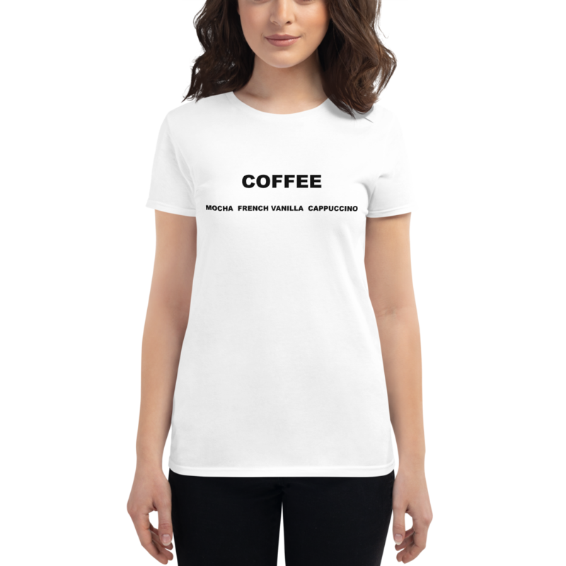 I CAN'T Without COFFEE-COFFEE Palette Short Sleeve T-Shirt