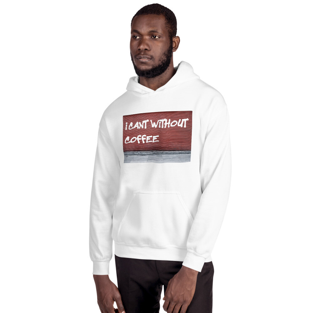I CANT Without COFFEE-GRAFFITI Unisex Hoodie