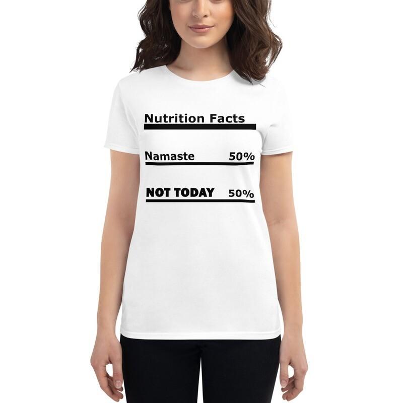 I CANT Without COFFEE-NAMASTE Women's Short Sleeve T-shirt