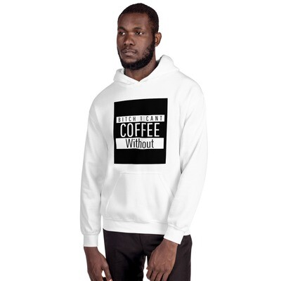 I CANT Without COFFEE- STRAIGHT OUTTA KHAVE (PG-13) Men's Hoodie