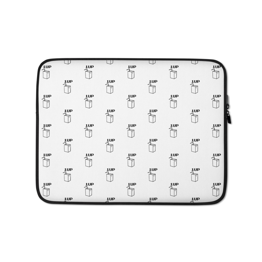 I CAN'T Without COFFEE®️- 1UP JUICE Laptop Sleeve