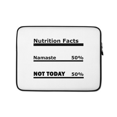 I CAN'T Without COFFEE®️-NAMASTE Laptop Sleeve