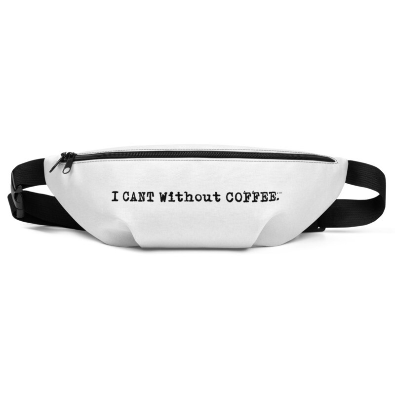 I CAN'T Without COFFEE®️ -LOGO Fanny Pack
