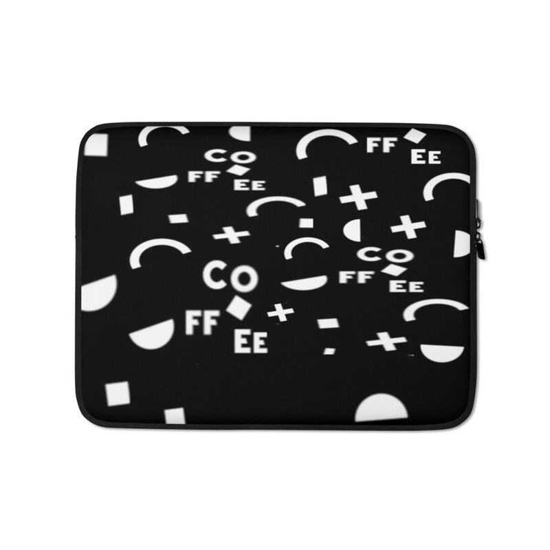 I CAN'T Without COFFEE®️- It Came From The 80's (THREE) Laptop Sleeve