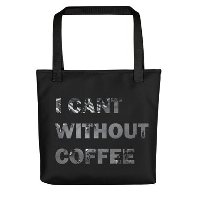 I CAN'T Without COFFEE®️- CITYSCAPE Tote bag