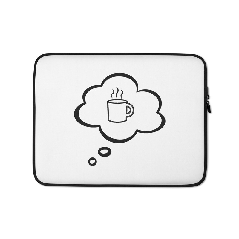 I CAN'T Without COFFEE®️-I DREAM OF COFFEE (TWO) Laptop Sleeve
